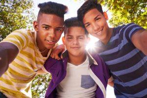 Happy teenagers after Neurofeedback for ADHD